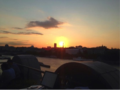 Oxo Tower Sunset