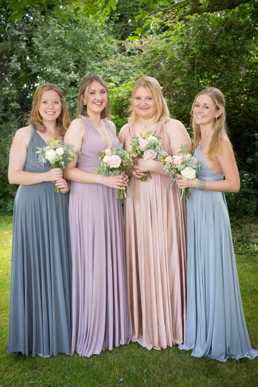 Chloe's Bridesmaids from the Wedding