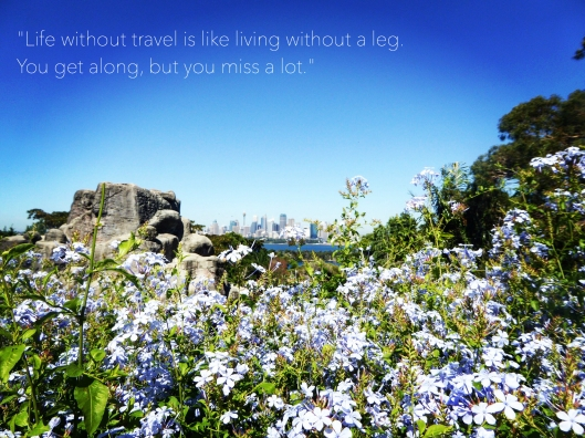 Life without travel quote