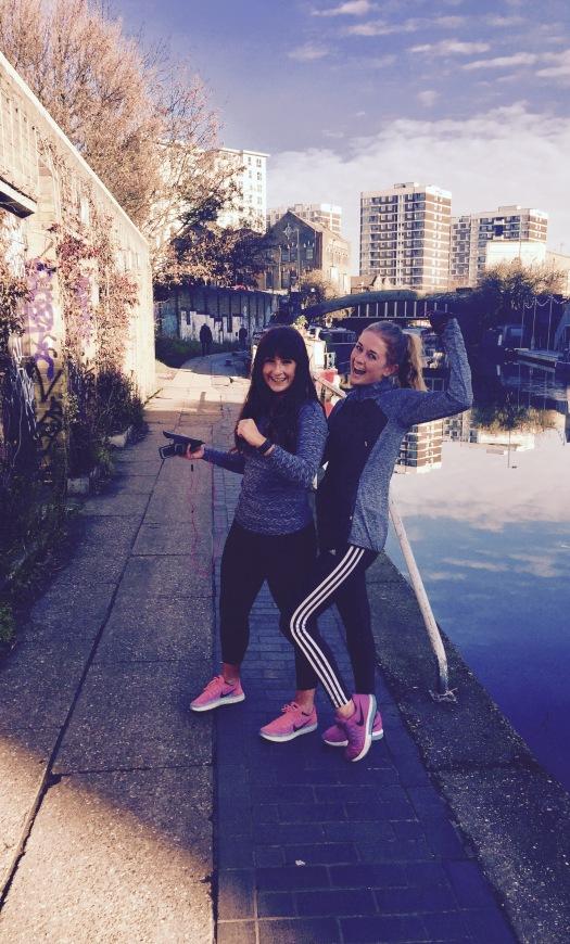 Evangeline Laurel - Marathon training